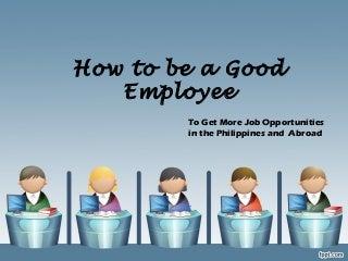 Good Employee | LinkedIn