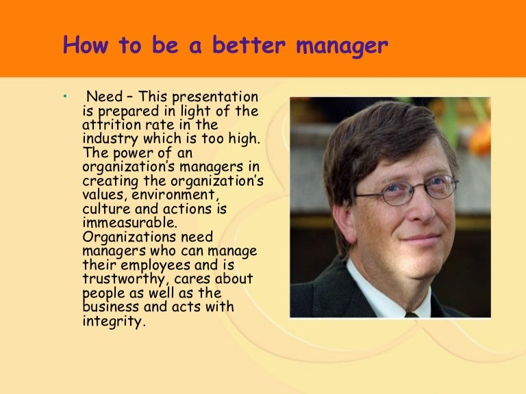 how to be a good manager - Being A Manager Why Do You Want To Be A Manager