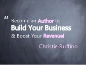 How to Become an Author to Build Your Business and Boost Your Revenue
