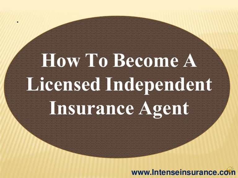 how to become life insurance agent in ontario