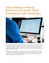 How to Become a Successful Serial Entrepreneur with Technology