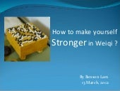 How to become stronger in weiqi