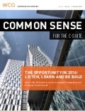 Common Sense for the C-Suite