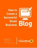 How to Create a Successful Small Business Blog