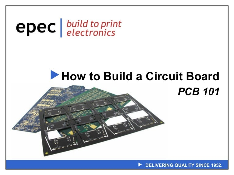 PCB 101 - How To Build a Circuit Board