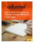 How To Build And Launch An Effective Business Website In 5 Easy Steps