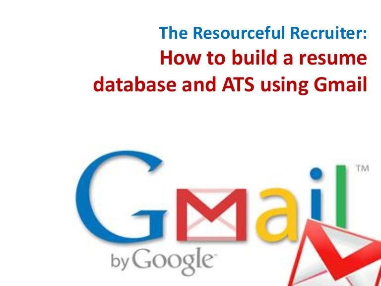 free resume database access