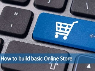 How to build basic online store with WordPress and WooCommerce