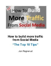 How to build more traffic from social media