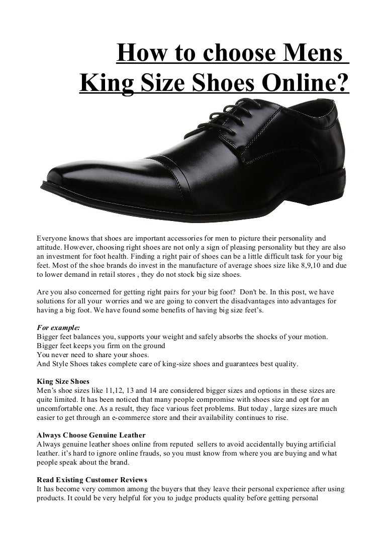 How to choose mens leather shoes
