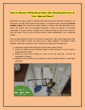 How to Choose Professional Move Out Cleaning Services at Your Nearest Place?