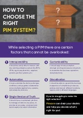 How To Choose Right PIM System?
