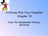 fred lee if disney ran your hospital going from good to great in
