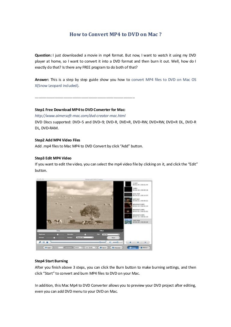 Free mp4 video player for mac