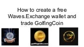 How to create a waves.exchange account (1)
