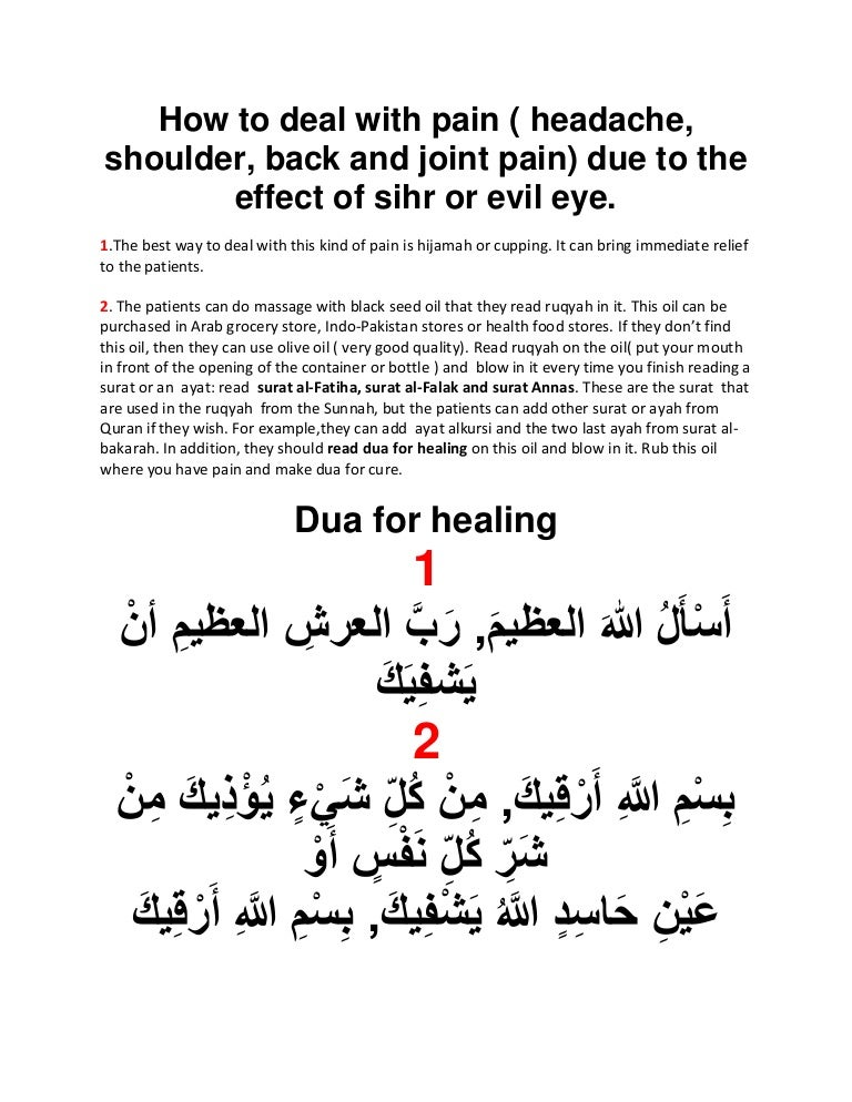Treatment of pain ( hedacke, shoulder and back pain, joint
