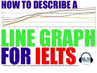 IELTS ACADEMIC TASK 1: How to describe a line graph