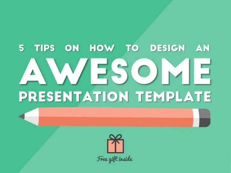 how to design an awesome presentation template, Powerpoint templates