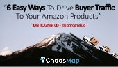 6 Easy Ways To Drive Traffic To Your Amazon Store - Sellers Playbook Las Vegas