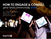 How to Engage & Consult Your Community Online