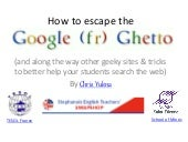 How to escape the google ghetto