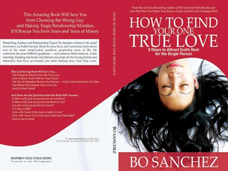 How to find your one true love by bo sanchez ccuart Image collections