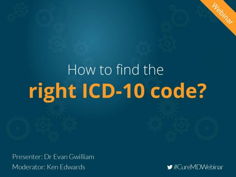 How To Find The Right Icd 10 Code