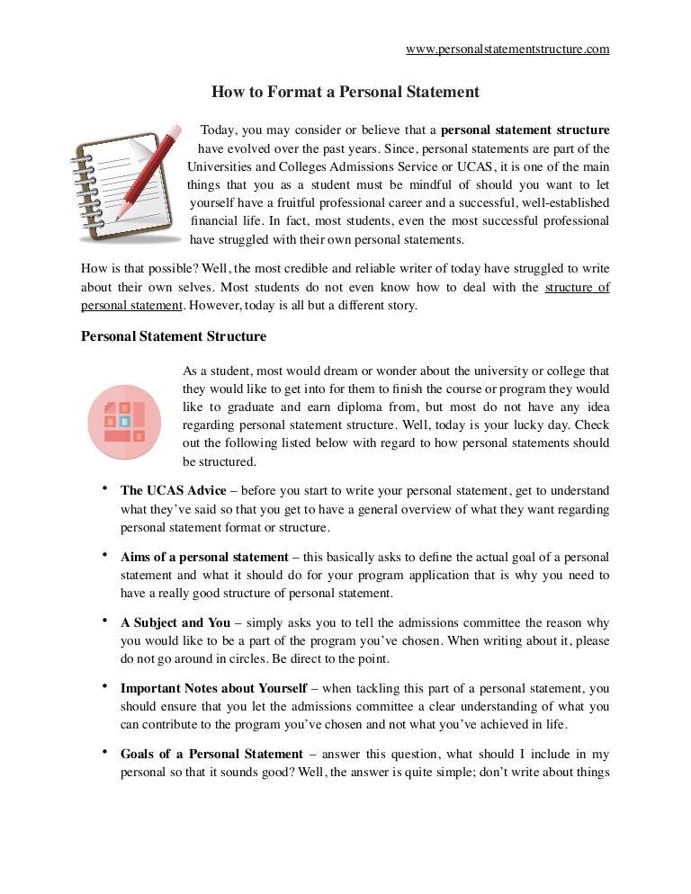 personal statement ucas example