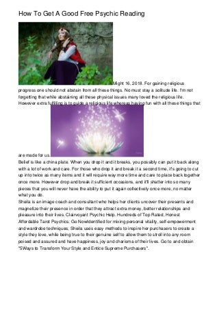 How To Get A Good Free Psychic Reading