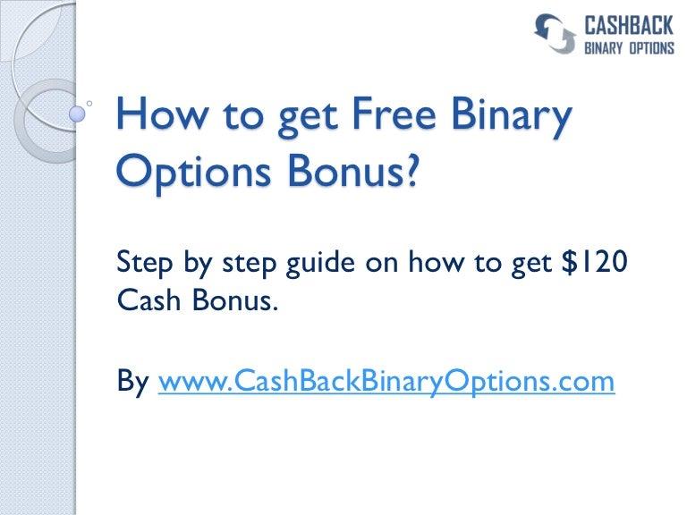 Binary options bonus guide 3 5 betting odds