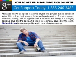 How To Get Help For Addiction On Meth
