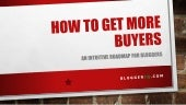 How to get more buyers - think outside the circle