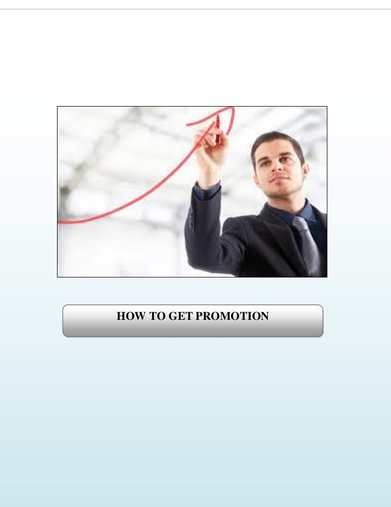 how to get promotion