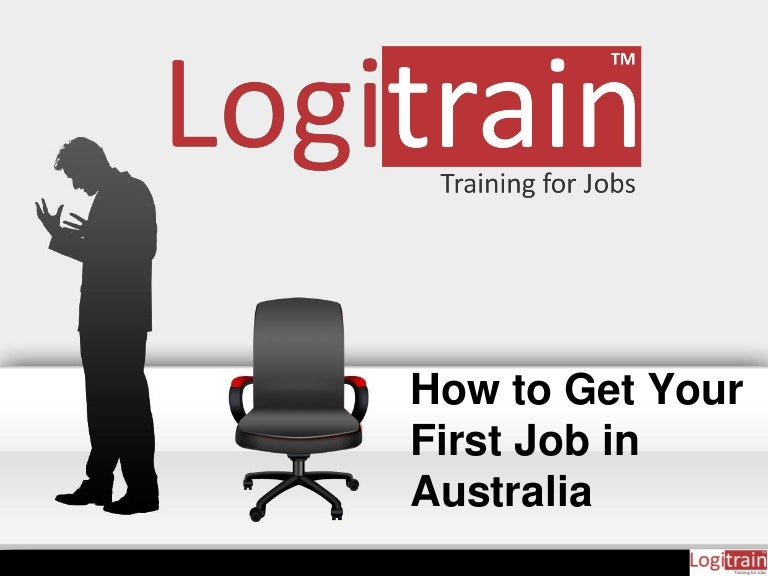 how to get a first job