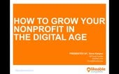 How To Grow Your Non Profit Organization in the Digital Age