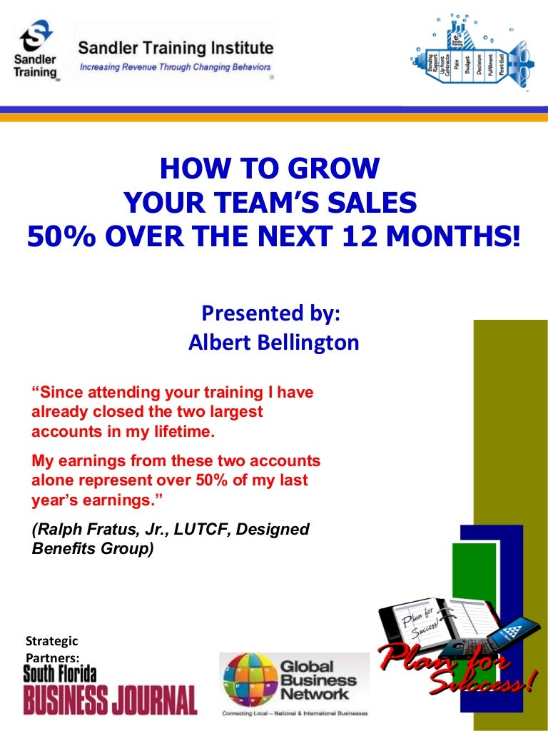 Workbooks willy the wimp worksheets : How To Grow Your Teams Sales 50% In 2010 Linked In