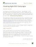 Creating Agile SEO Campaigns How-To Guide