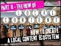How to guide for local content creation. Got a local content ecosystem? Are you thinking supply & demand? .