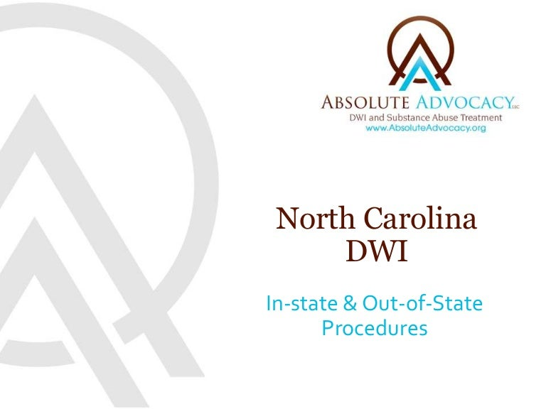 How To Get Your License Back After a DWI in North Carolina