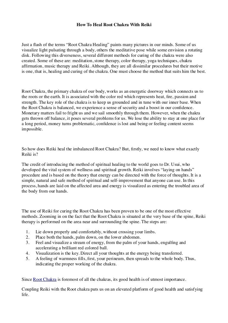 🌷 Root chakra meditation pdf | Kundalini Rising, Part 1