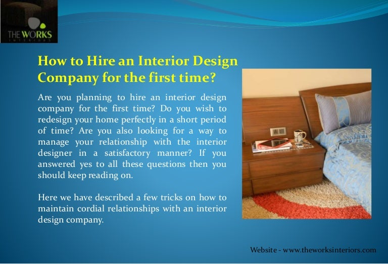 How to hire an interior design company for the first time for Companies that hire interior designers