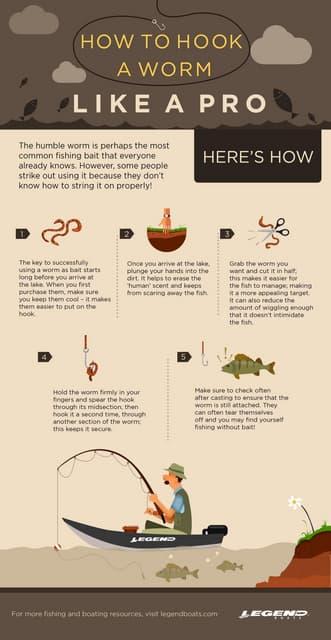 How to Hook a worm like a Pro