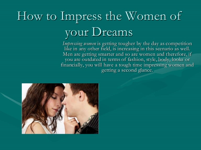 The best way to seduce a girl