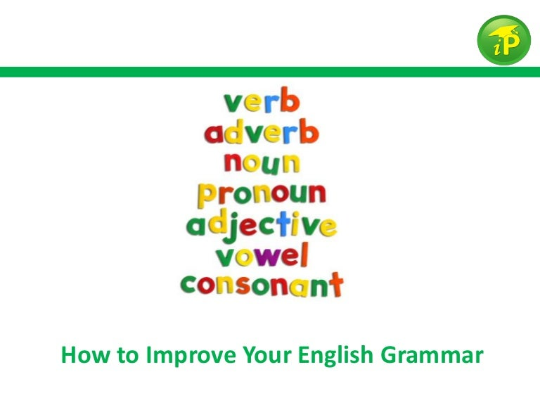 How to Improve Your English Grammar