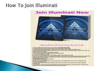 How To Join Illuminati-Official Illuminati Website