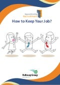 How to Keep your Job