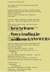 Download forex trading tutorial in urdu 100 winning forex system