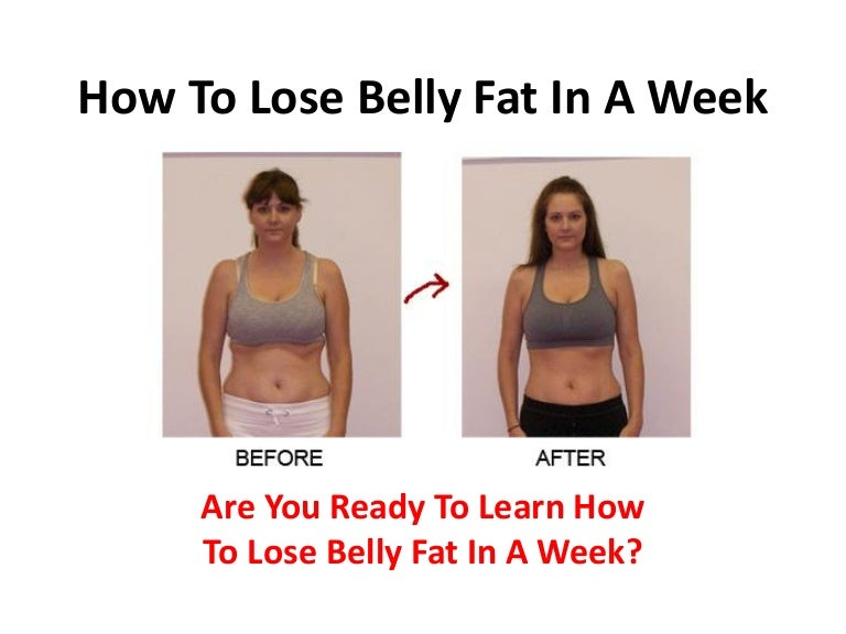 Quick Ways To Loose Belly Fat