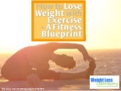 How to Lose Weight with Exercise – A Fitness Blueprint