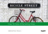 How to make a marketing video